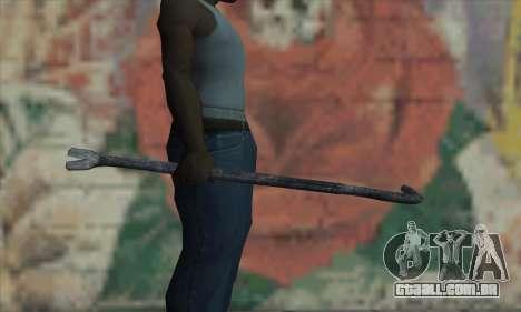 Alavanca de pneu para GTA San Andreas terceira tela