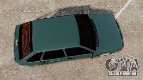 VAZ-2114 Samara-2 para GTA 4 vista direita