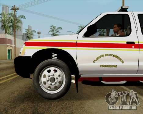 Nissan Terrano para o motor de GTA San Andreas