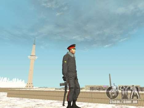 Pack de russo de armas de pequeno para GTA San Andreas terceira tela