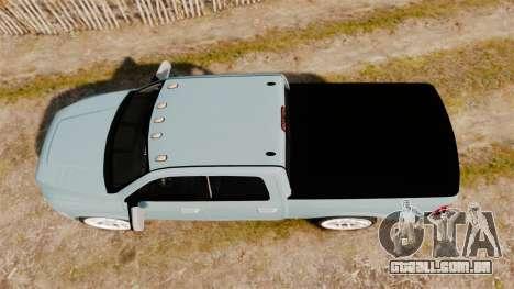 Dodge Ram 3500 Heavy Duty para GTA 4 vista direita