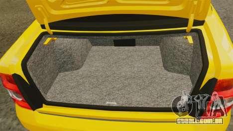 VAZ-Lada 2170 Priora para GTA 4 vista lateral