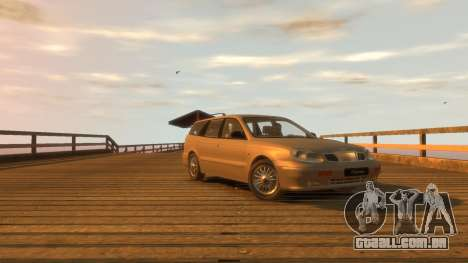 Daewoo Leganza Wagon para GTA 4 vista direita