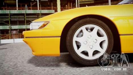 Nissan 240sx Dor de 1992 para GTA 4 vista direita