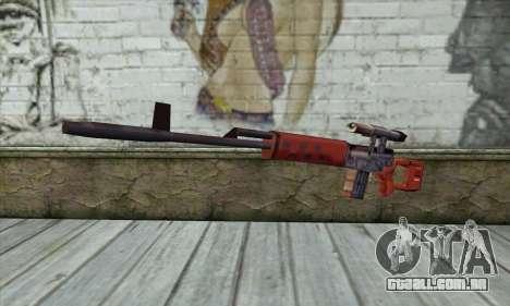SVD Sniper Rifle para GTA San Andreas