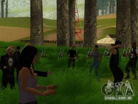 Biker Party 1.0 para GTA San Andreas