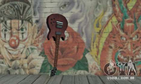 Guitarra de L4D para GTA San Andreas
