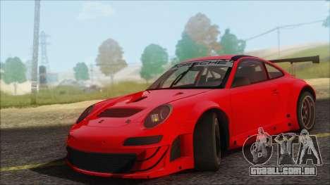 Porsche 911 GT3 RSR para GTA San Andreas