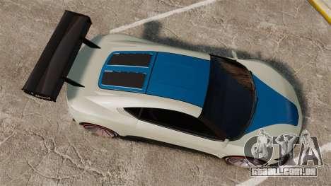 GTA V Dinka Jester para GTA 4 vista direita
