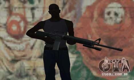 M16 de L4D para GTA San Andreas terceira tela