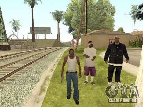 Vá para a gangue dos Ballas para GTA San Andreas