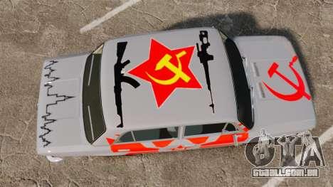 VAZ-Lada 2101 URSS para GTA 4 vista direita