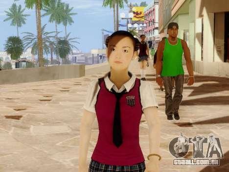 Hanako para GTA San Andreas segunda tela