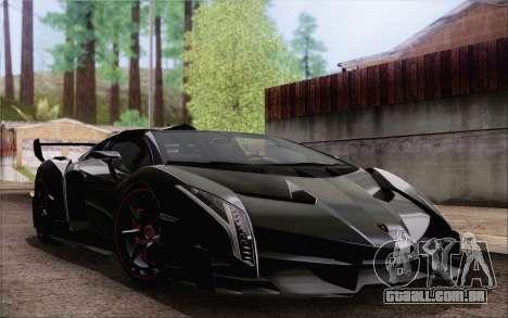Lamborghini Veneno Roadster LP750-4 2014 para GTA San Andreas