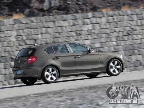 Arranque telas BMW 116i para GTA 4 sexto tela