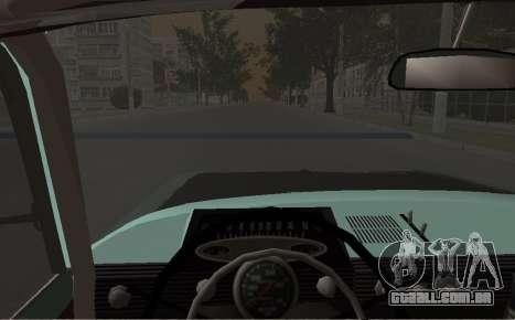 Moskvich 412 Rally para GTA San Andreas vista direita