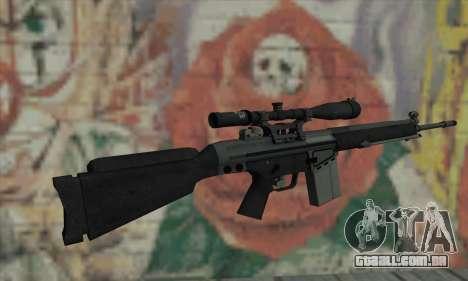 Rifle sniper de L4D para GTA San Andreas segunda tela