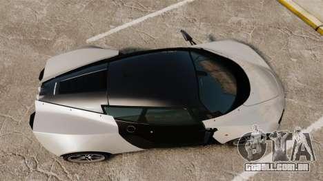 Marussia B2 para GTA 4 vista direita
