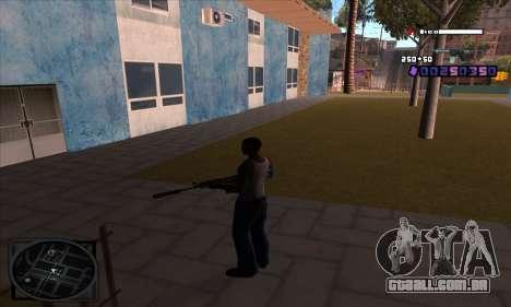 C-HUD Belenky para GTA San Andreas