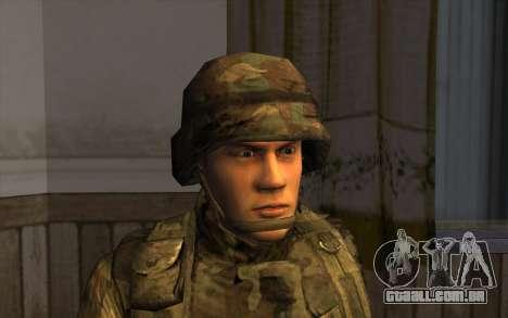 Soldados do SA, e a guarda Nacional Mississippi para GTA San Andreas terceira tela