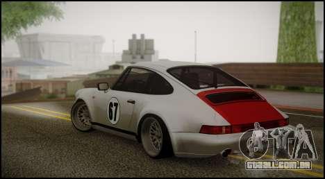 Porsche 911 para GTA San Andreas esquerda vista