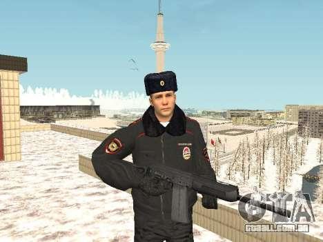 Pack de russo de armas de pequeno para GTA San Andreas segunda tela