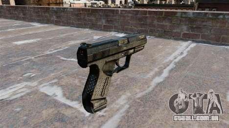 Pistola semi-automática de Walther P99 para GTA 4 segundo screenshot