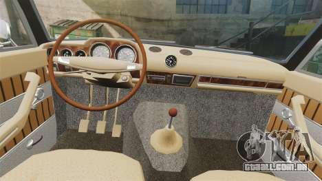 UTILIZANDO-2103 Lada para GTA 4 vista interior