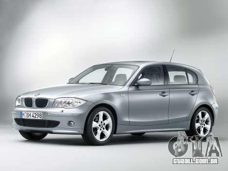 Arranque telas BMW 120i para GTA 4 terceira tela
