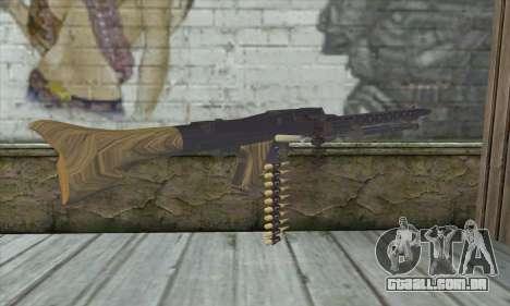 MG42 para GTA San Andreas segunda tela