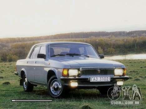 Arranque telas Soviética Carros para GTA San Andreas por diante tela
