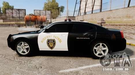 Dodge Charger 2010 LCHP [ELS] para GTA 4 esquerda vista