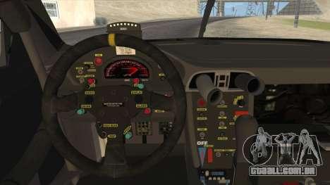 Porsche 911 GT3 RSR para GTA San Andreas vista traseira
