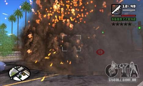 Slow Motion para GTA San Andreas segunda tela