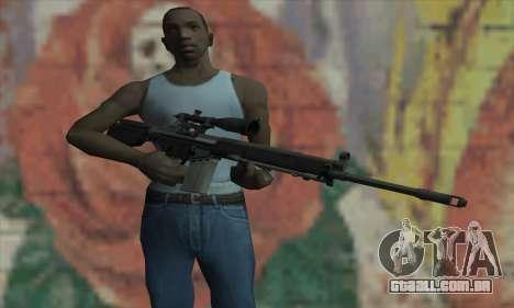 Rifle sniper de L4D para GTA San Andreas terceira tela