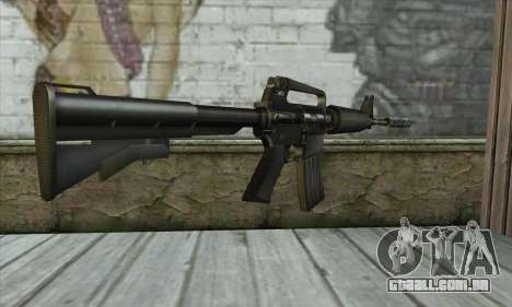 M4 из Conter Strike para GTA San Andreas segunda tela