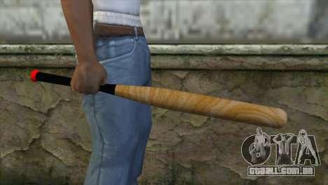 Taco de beisebol para GTA San Andreas terceira tela