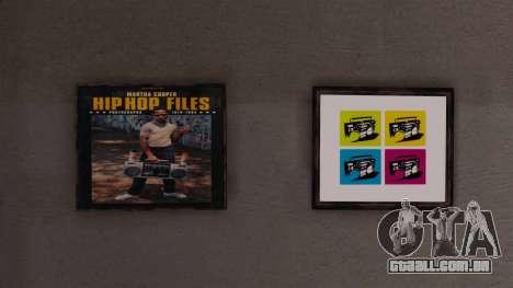 Novos cartazes no apartamento Playboy para GTA 4 quinto tela