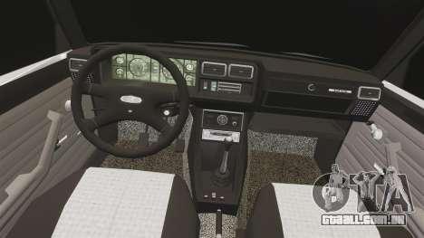 UTILIZANDO-Lada 2107 para GTA 4 vista lateral