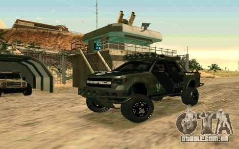 Ford F150 Raptor Unique Edition para GTA San Andreas