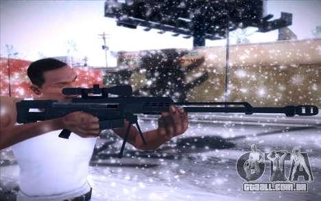 Barrett AS50 para GTA San Andreas