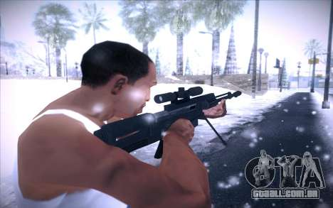 Barrett AS50 para GTA San Andreas terceira tela