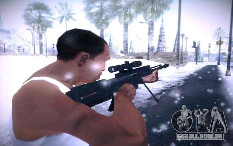 Barrett AS50 para GTA San Andreas terceira tela