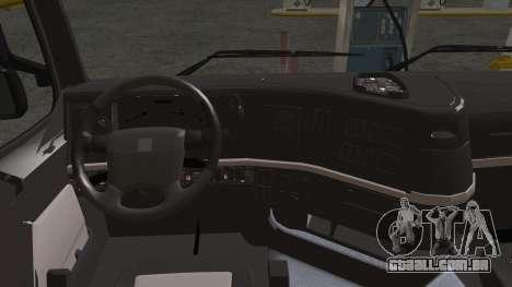 Volvo FH13 500 para vista lateral GTA San Andreas