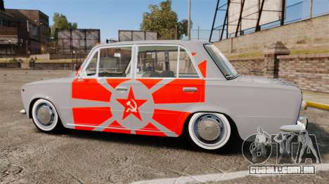 VAZ-Lada 2101 URSS para GTA 4 esquerda vista