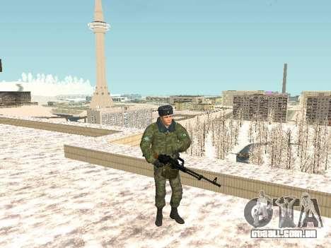 Pack de russo de armas de pequeno para GTA San Andreas por diante tela