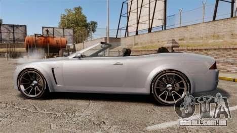 GTA V Lampadati Felon GT para GTA 4 esquerda vista