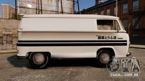 Volkswagen Transpoter 2 1975 para GTA 4 esquerda vista