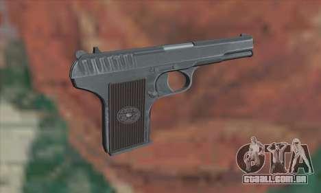 TT Pistol para GTA San Andreas segunda tela