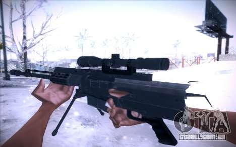 Barrett AS50 para GTA San Andreas segunda tela